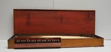 Clavichord attributed to Philip Jacob Specken, Stockholm, circa 1740